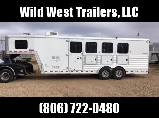 2008 Kiefer Built 4 Horse Horse Trailer