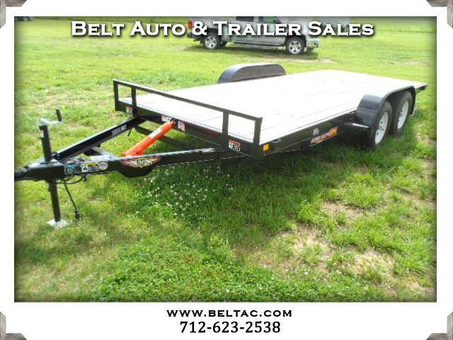 2018 H&H Trailer Speed Loader 8.5x18 MXC