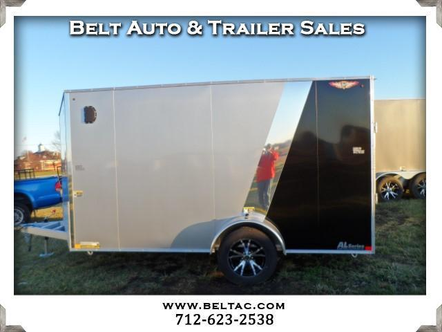 2016 H&H Trailer 7x12x72 Cargo Aluminum frame FT VN RD