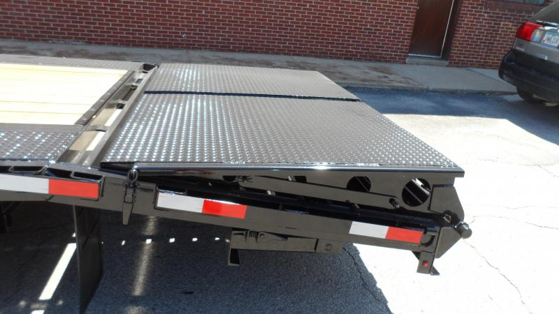 2019 H and H Trailer 20+5 14LB GN LP 14K DECKOVER SUPER DELUX