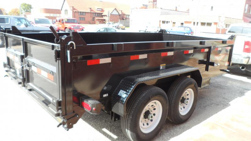 2019 H and H Trailer 83X14 DBW DUMP BOX 14K