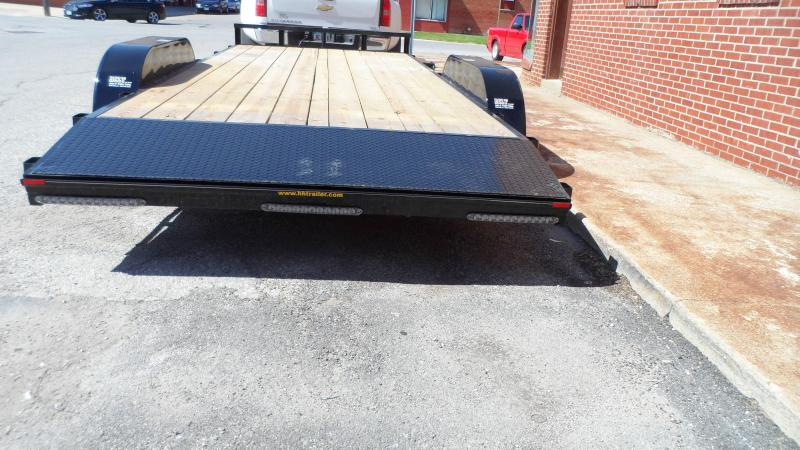 2018 H and H Trailer 82x16 HD FLAT 2FT DOVE 7K