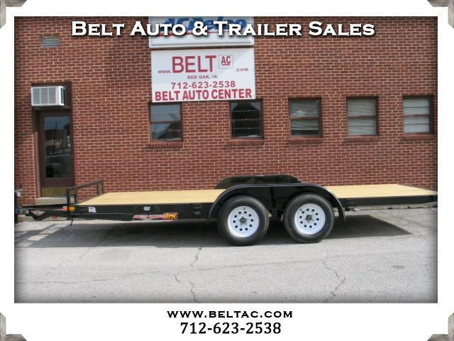 2018 H&H Trailer Speed Loader 8.5x18 w/removable fenders