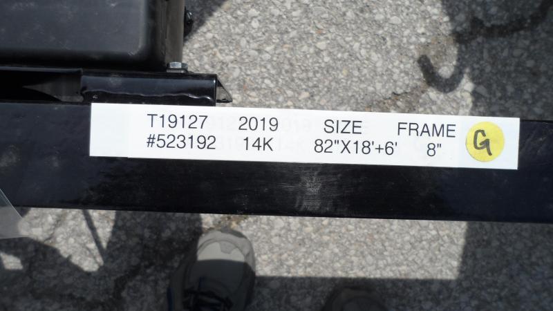 2019 H and H Trailer 18+6 GTL 14K