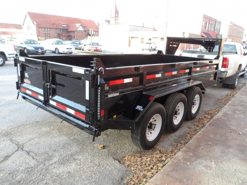 2018 Finish Line Dump Box 8.5x16 21k Dump Trailer