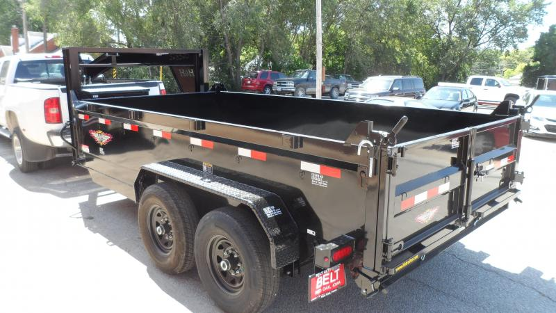 2020 H and H Trailer 83X14 DBW GN DUMP BOX 14K