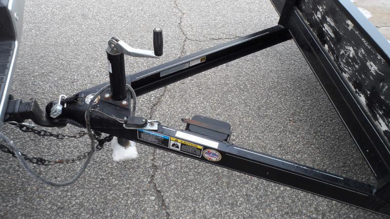2014 H and H Trailer Car Hauler Equipment Trailer