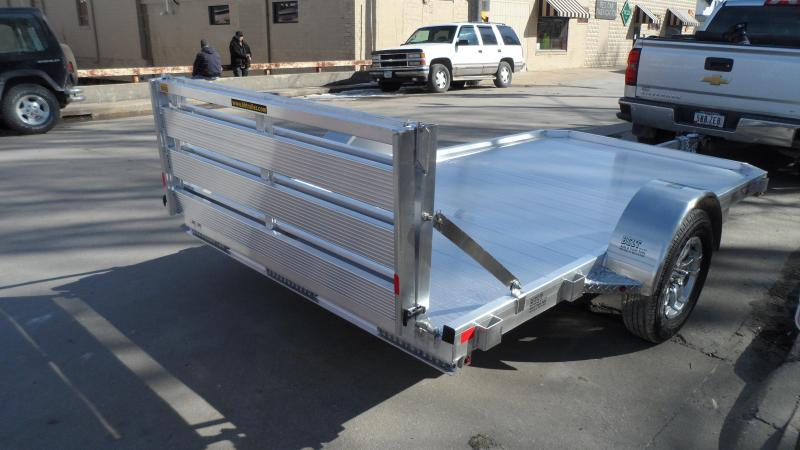 2018 H and H Trailer 72X12 LOW-SIDE ALUM 3K