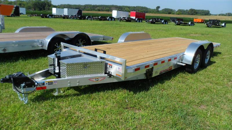 2019 H and H Trailer 82X20 ALUM ELEC. LP SPEEDLOAD 10K
