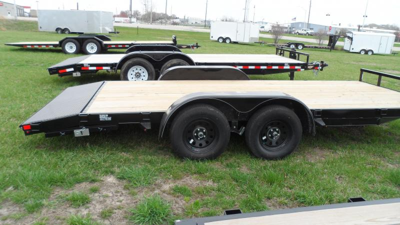 2019 H and H Trailer 82X16+2 GENERAL DUTY 7K DOVE