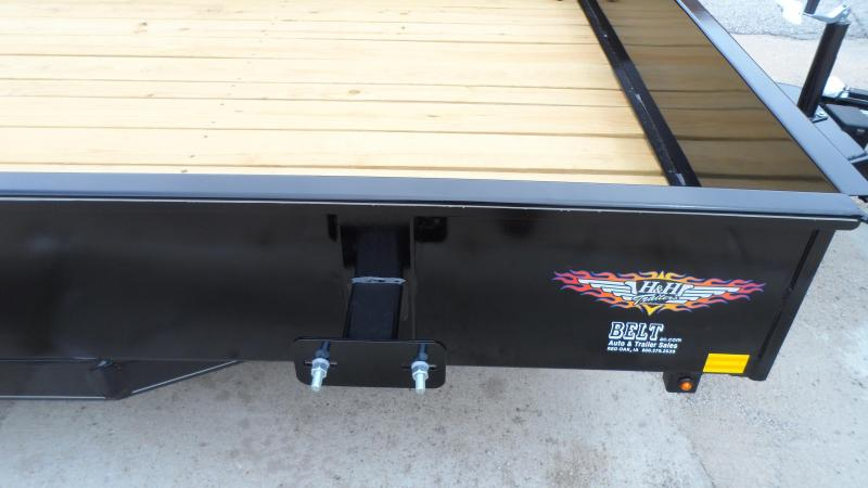 2018 H and H Trailer 8.5X20 STEEL SOLID SIDE TANDEM 7K