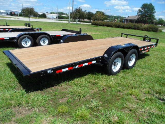 2017 H&H Trailer Speed Loader 8.5x20 MX 14k w/removable fenders