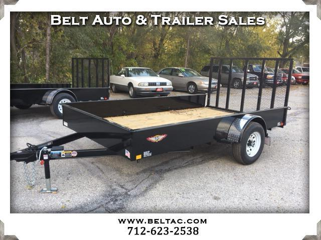 2018 H and H Trailer Utility 8.5x12 Solid side 5200lb axle Utility Trailer