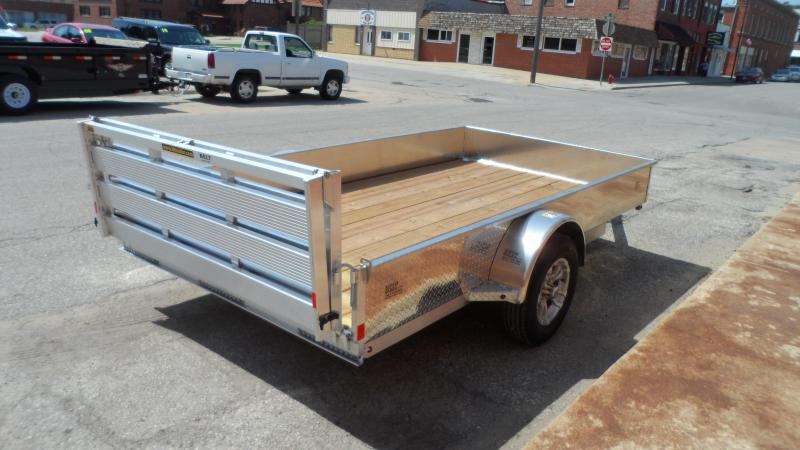 2018 H and H Trailer 8(76)X12 SOLID SIDE ALUM  STD 3K