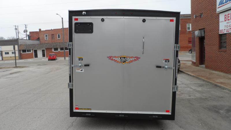 2019 H and H Trailer 7X12 SINGLE FLAT TOP HH VNOSE 5K CARGO