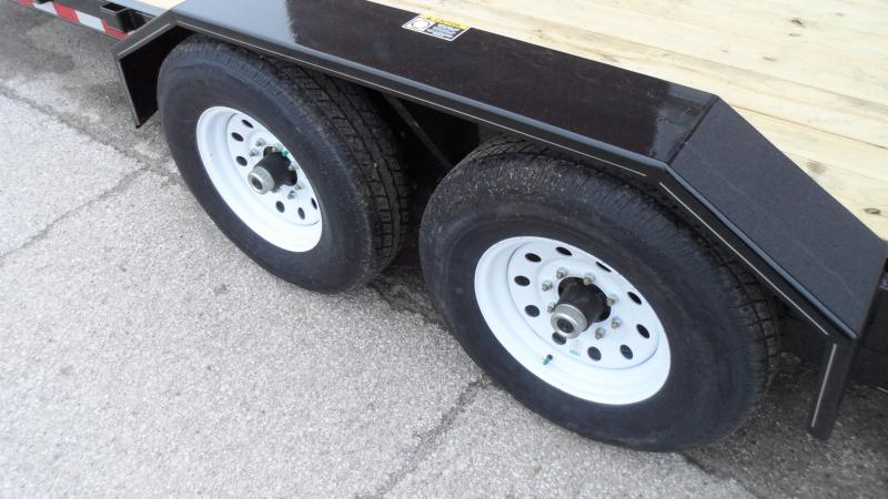 2019 H and H Trailer 18+6 GTL 14K