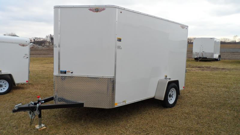 2019 H and H Trailer 60x10x72 Cargo Enclosed Trailer