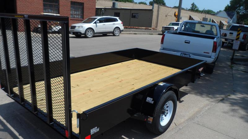 2019 H and H Trailer 82X12 STEEL SOLID SIDE 5K
