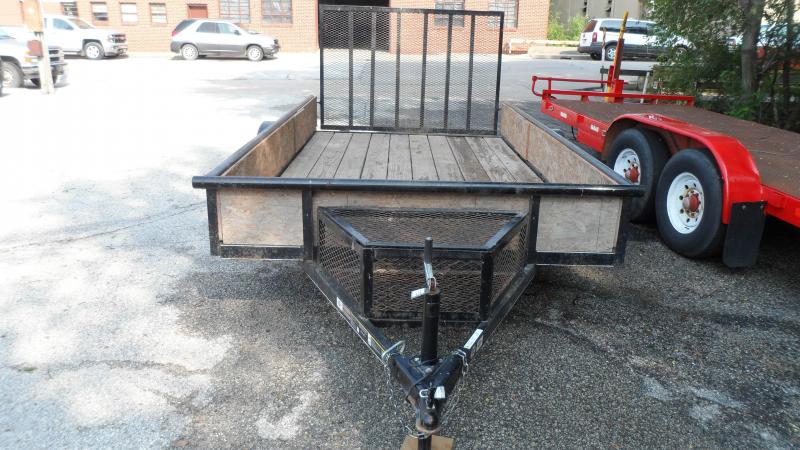 2015 Carry-On Utility Rail Side Trailer