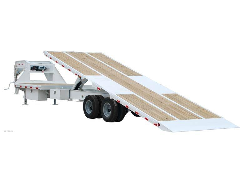 2018 PJ Trailers Tandem Dual Tilt (TD) Car / Racing Trailer