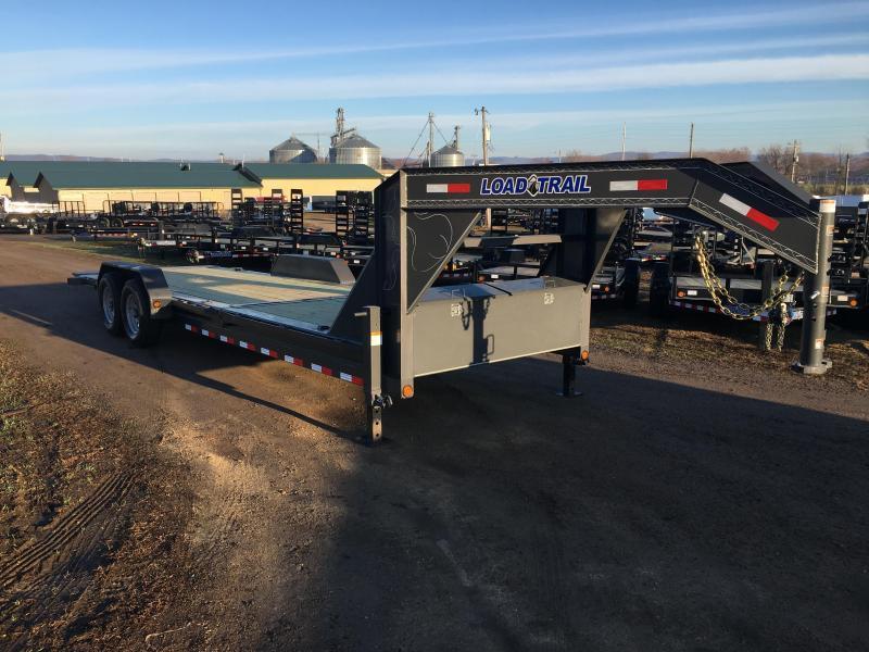 2019 Load Trail 83X24 Gooseneck Tilt Deck Equipment Trailer