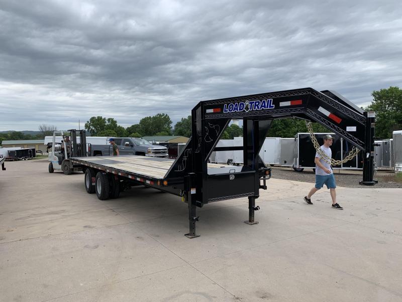 2019 Load Trail 102X26 Gooseneck Tilt Deck Equipment Trailer