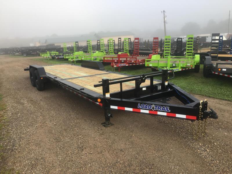 2020 Load Trail 83X24 Gravity Tilt Equipment Trailer