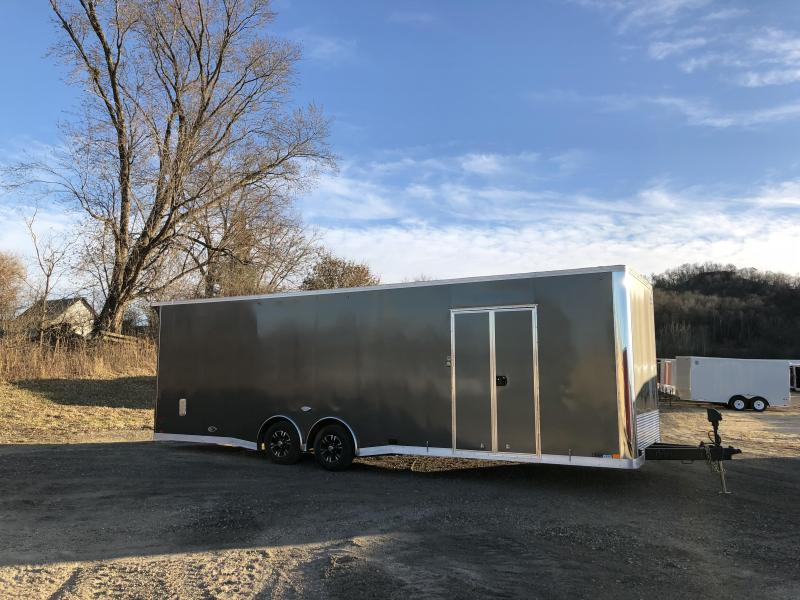 2018 United Trailers 8.5X28 Enclosed Race Cargo Trailer   Load ...