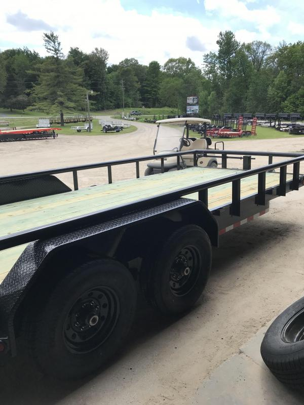 New 20' Load Trail Carhauler Equipment Trailer