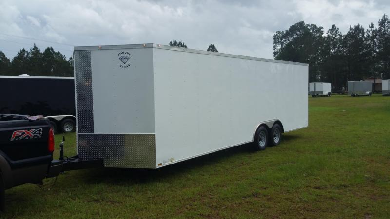 2017 Diamond Cargo 8.5x24 ta-5200