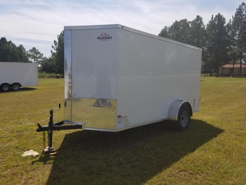 2018  ROCK SOLID 6x12SA-3500LB (BARN DOORS) Enclosed Cargo Trailer