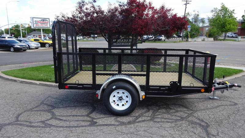 2018 PJ Trailers 60x10 High Side Utility Trailer | Wasatch ...