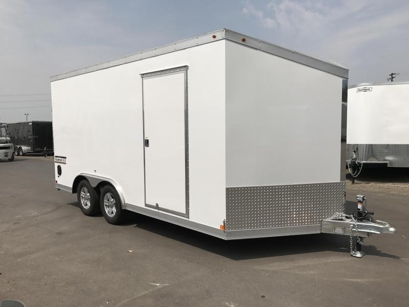 2018 Haulmark 8.5x16 Aluminum Enclosed Cargo Trailer