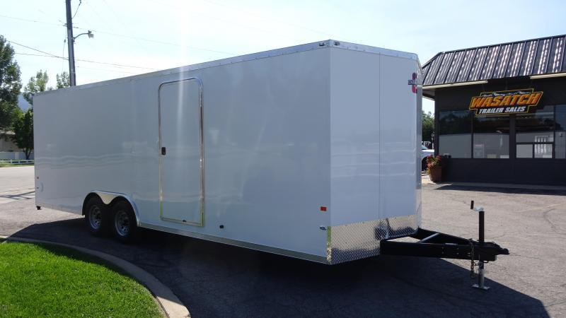 2018 Charmac Trailers 24 Stealth Enclosed Car Hauler Wasatch