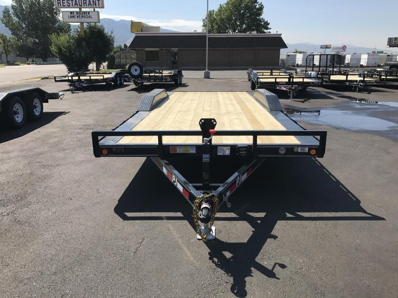 2018 PJ Trailers 20 Buggy Hauler Utility Trailer | Wasatch ...