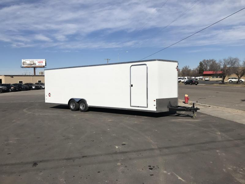 2018 Charmac Trailers 100X28 Stealth Enclosed Cargo Trailer