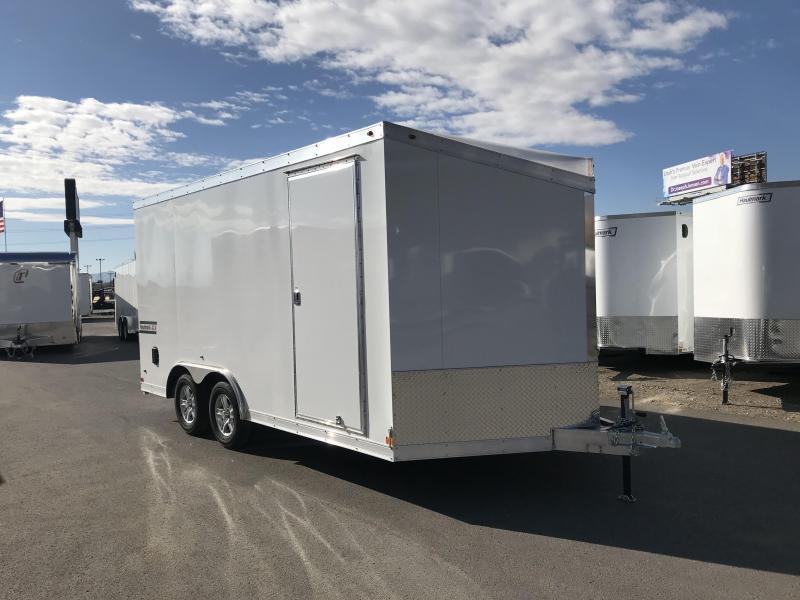 2018 Haulmark 8.5X16 Aluminum Enclosed Cargo Trailer