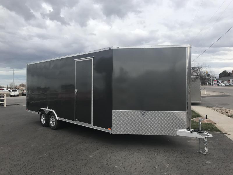 2018 Cargo Mate 25 RedLine Snowmobile Trailer