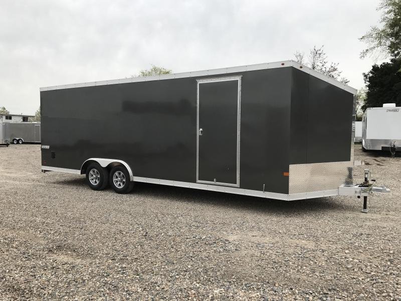 2017 Haulmark 24 All Aluminum Enclosed Cargo Trailer