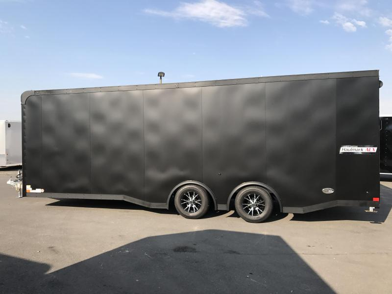 2017 Haulmark 24 Aluminum Racing Trailer