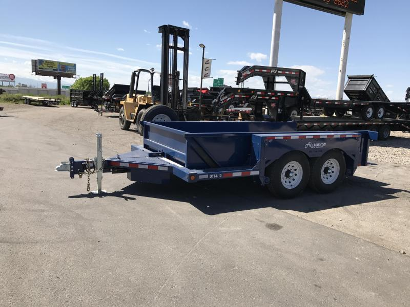 2018 Air Tow UT14-10 Equipment Trailer | Wasatch Trailer ...