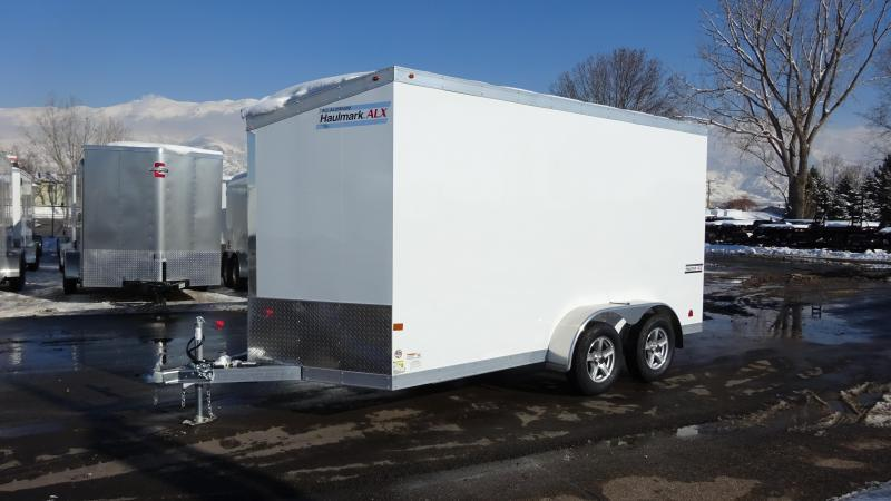 2017 Haulmark 7X16 Aluminum Enclosed Cargo Trailer