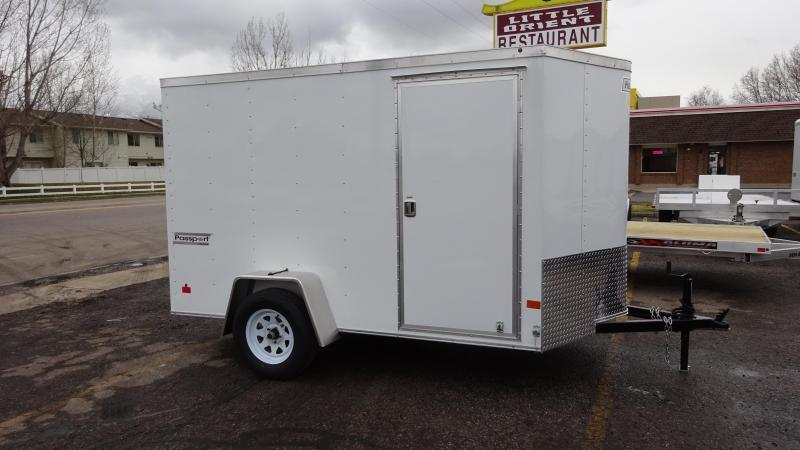 2017 Haulmark 6X10 Passport Enclosed Cargo Trailer ...