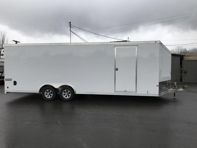 2017 Haulmark 24 Aluminum Enclosed Cargo Trailer