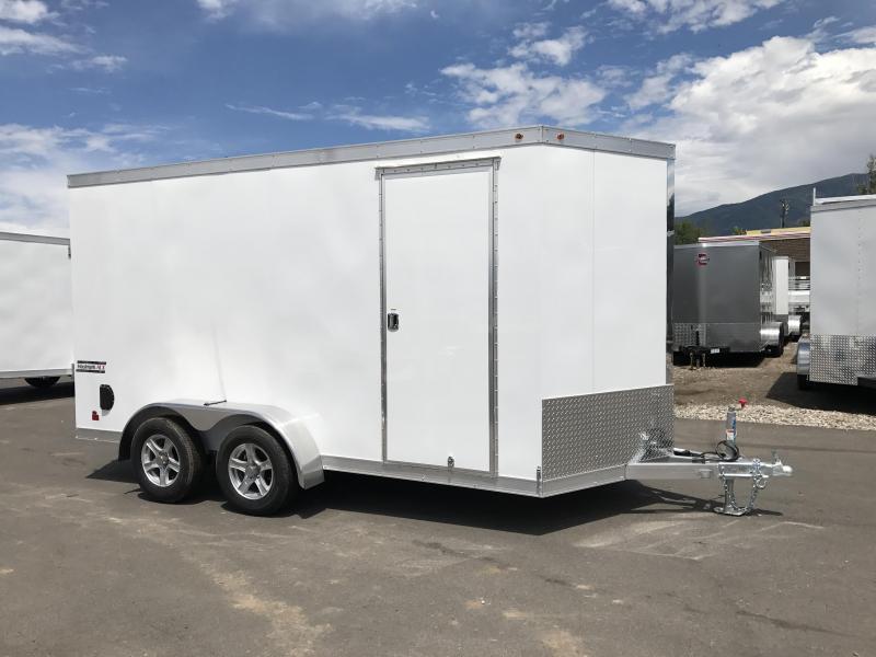 2017 Haulmark 7X14 Aluminum Enclosed Cargo Trailer