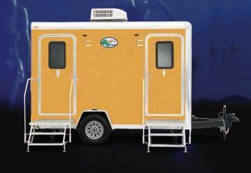 104 LuxuryLav Narrow Body Compact IV Restroom Trailer