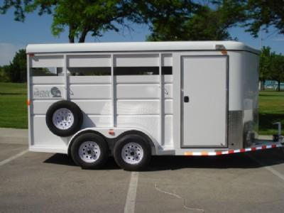 2017 Maverick Steel Horse Trailer