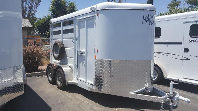 2017 Maverick Aluminum  Horse Trailer