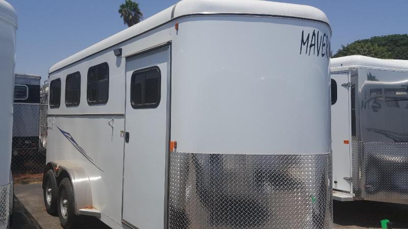 2018 Maverick Deluxe 3 Horse Trailer