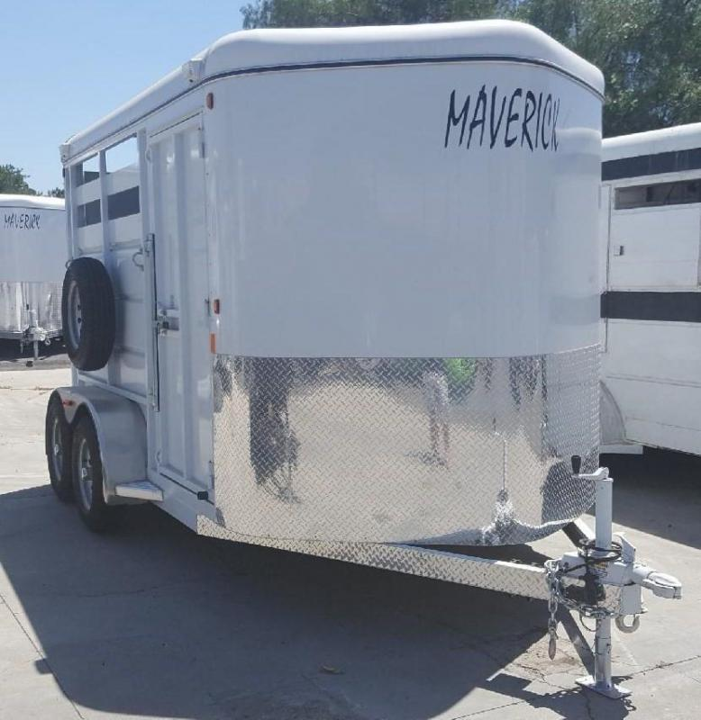2018 Maverick Steel 2 Horse Trailer